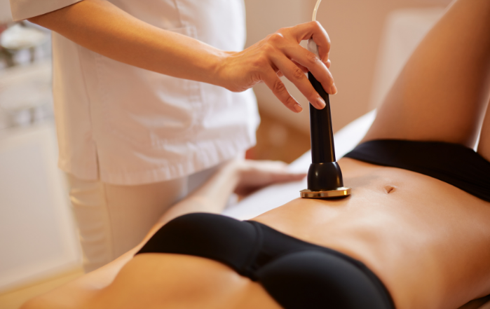 ultrazvuk, telo, salón Alma Care