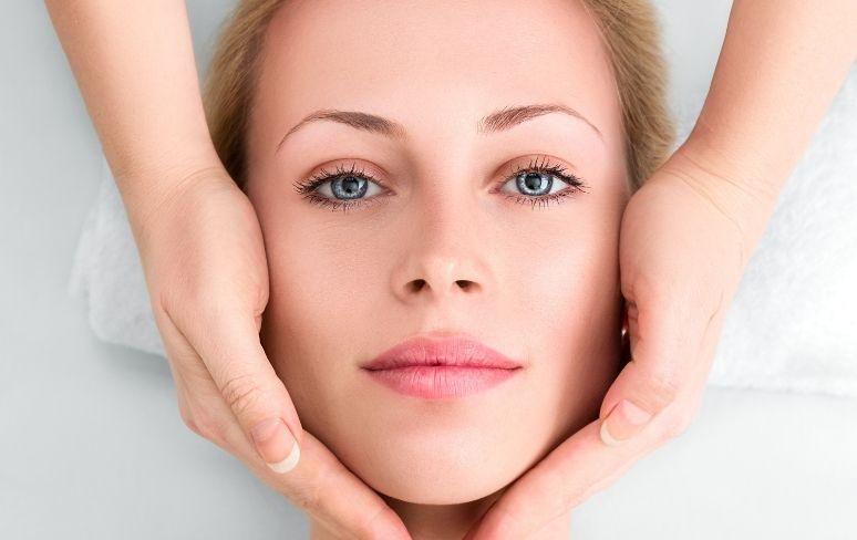 masáž tváre